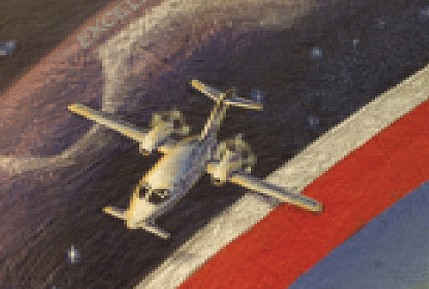 Pomadorium FAQs - Painting of Piaggio aircraft